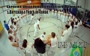 5. Batizado e Troca de Corda Capoeira Uniao Alemanha